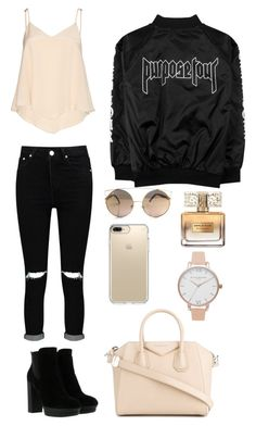 """Untitled #2"" by natashazein on Polyvore featuring Alice + Olivia, Hogan, Boohoo, Givenchy, Speck and Olivia Burton"