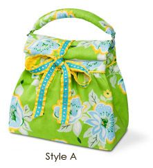 Jack & Jill Lunch Bags - mini pattern- @Karen Wolff I could see your girls carry these