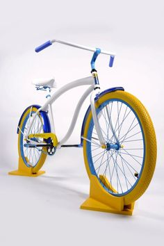 Vitamin Shoppe bike Limited Edition Custom Beach Cruiser Bicycle by Villy Custom Custom Beach Cruiser, Beach Cruiser Bikes, Cruiser Bicycle, Cool Bicycles, Cool Bikes, Vintage Bmx Bikes, Montain Bike, Tricycle Bike, Recumbent Bike Workout