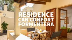 Apartamentos Residence Can Confort Formentera, España. Visita Residence ...