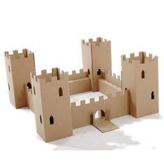 Château Fort en carton - Jeu PAPERPOD - Acheter jeux sur Jeprogresse.com