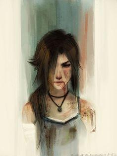 #LaraCroft #TombRaider #FemaleHero #Hero #shadowofthetombraider #Bow #Hunter #Fire #Forest