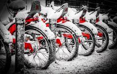 Winter Bikes by Gerd Hachmann on 500px