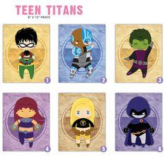 Teen Titan 8x10 Prints