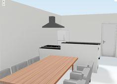 Keuken plattegrond