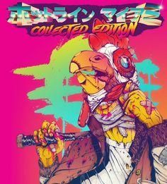 『ホットライン マイアミ Collected Edition』日本版ボックスアートが公開!サイケな色彩をチェック | Game*Spark - 国内・海外ゲーム情報サイト