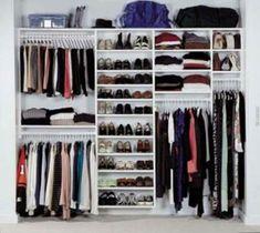 Trendy Ideas For Diy Wardrobe Closet Small Spaces Decor Ikea Closet, Closet Shelves, Closet Space, Closet Storage, Wardrobe Storage, Purse Storage, Corner Shelves, Cubbies, Reach In Closet