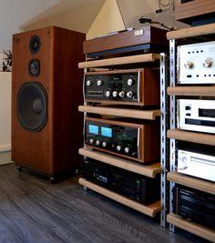 Vintage audio hifi stereo