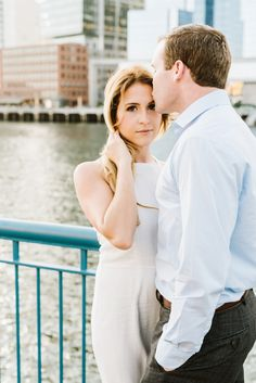 Seaport District, Boston Engagement Session   Annmarie Swift   Boston & New England Wedding Photographer