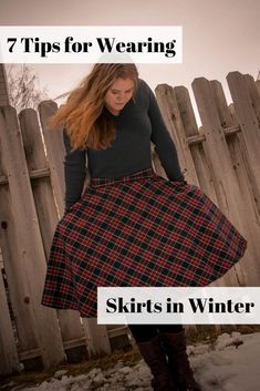 7 Tips for Wearing Skirts in Winter on Amiably Styled. Sustainable, ethical, conscious fashion tips. Slow Fashion, Ethical Fashion, Cheap Fashion, Korean Fashion, Fashion Looks, Fashion Outfits, Boho Fashion, Style Fashion, Fashion Tips For Women