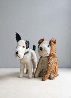 Hamster, Dog Rooms, Vintage Dog, White Dogs, Soft Sculpture, Antique Toys, Old Toys, Dog Care, Dog Grooming