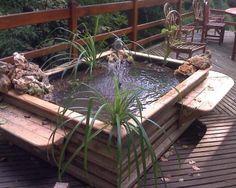 Bassin d 39 eau dans le jardin 85 id es pour s 39 inspirer for Cloture bassin poisson