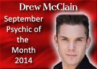 Drew McClain, Psychic Medium, September 2014, www.bestamericanp..., #bestamericanpsychics, #shayparker, #drewmcclain, #BAPAwardWinner
