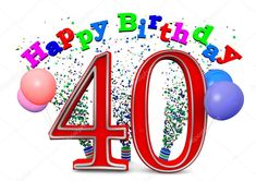 Animated 40th Birthday Wishes:Celebrate birthday of your close ones with our latest collection of best and Animated 40th Birthday Wishes which are just crated for them. Use these birthday wishes t…