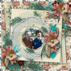 The Time After Time collection is perfect for scrapping heritage or contemporary pages.  It has a palette of bright aqua, rust, and dark chocolate with muted teal, beige, cream, ice blue and glacier green compliments. The rich colors print beautifully for hybrid projects as well as pocket and traditional digital scrapping styles.
