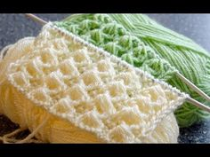 – You … – Baby knitting patterns Baby Knitting Patterns, Knitting Stiches, Knitting Videos, Easy Knitting, Knitting For Beginners, Knitting Designs, Knitting Projects, Stitch Patterns, Crochet Patterns