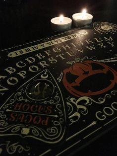 bashieformaldehyde: I love my Halloween Ouija board. Ouija, Wicca, Pagan Witch, Witches, Tumblr, Dark Photography, Halloween Art, Vintage Halloween, Samhain
