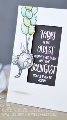 Lostinpaper - Penny Black - Time to Celebrate - Birthday Love (card) 1