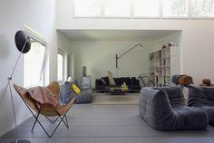 Inspiration Wohnen // Modedesignerin Nina van Rooijen: #Inspiration #Interior #NinavanRooijen #Wohnen