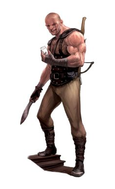 m Rogue Thief Bandit Light Armor Kukri Crossbow male human Kukri Pathfinder PFRPG DND D&D ed Fantasy Grounds lg Dungeons And Dragons Characters, D&d Dungeons And Dragons, Dnd Characters, Fantasy Characters, Fantasy Rpg, Medieval Fantasy, Dark Fantasy, Fantasy Character Design, Character Inspiration