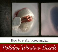 Deck Your Holiday Windows - Christmas Window Decals DIY - The Finishing Touch