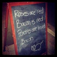 Mmm. Bacon. LOL
