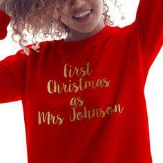 Family Christmas Jumper Babygrow Sweatshirt Mummy Elf Daddy Raised by Elves L141