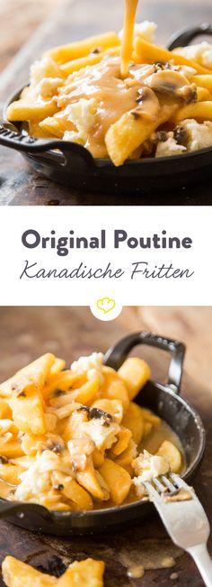 Pou...was? Goldgelbe Pommes, milde Käsestückchen und eine Kelle Bratensauce. Diese unverschämt guten Fritten aus Quebec musst du unbedingt kennenlernen.