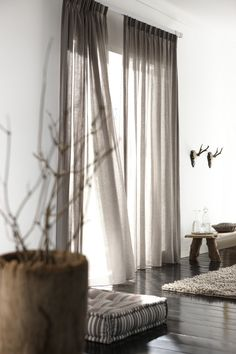 Complete the look of your room and your windows with drapery panels at Budget Blinds of Boise. Variety of colours and textures to accent your room.