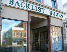 Backlist Books in Massillon, Ohio - awesome selection of Sci Fi and Fantasy titles