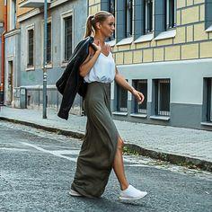Midi Skirt, Diamonds, Skirts, Blog, Style, Fashion, Swag, Moda, Skirt