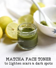 Dark spots and acne spots are one of the most common skin concerns and they usually are very stubborn. There are tons of dark spot corrector, masks for dark spots and skin lightening products availabl Lighten Scars, Lighten Dark Spots, Dark Spots On Face, Best Dark Spot Corrector, Getting Rid Of Scars, Turmeric Face Mask, Toner For Face, Coconut Oil For Skin, Matcha