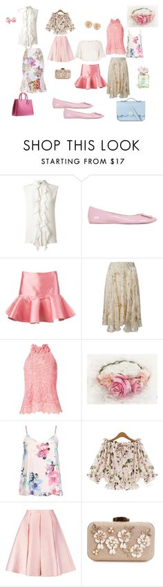 """painel romantico"" by ale-duarte-1 on Polyvore featuring moda, Roger Vivier, Chanel, Martha Medeiros, Dorothy Perkins, Emilia Wickstead e The Cambridge Satchel Company"