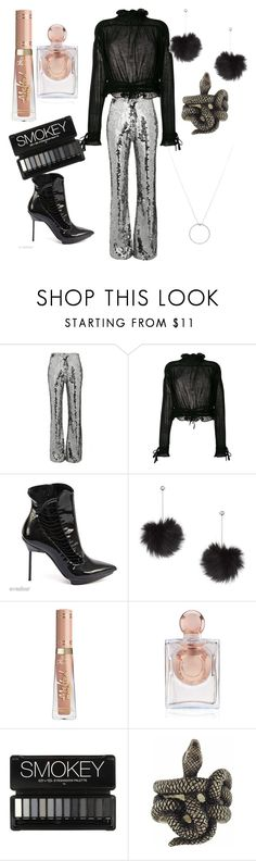 """dark superstar"" by jeonayla on Polyvore featuring Filles à papa, 3.1 Phillip Lim, Giorgio Armani, Topshop, La Perla, Buccellati and Roberto Coin"
