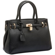 MG Collection HESSA Black Décor Lock Office Tote Handbag MG Collection http://www.amazon.com/dp/B007ZVE1XY/ref=cm_sw_r_pi_dp_3m.Vtb12FQ7AFKRG