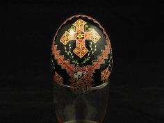 Cyn Smith made this duck pysanka for a special person.