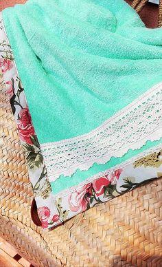 LuJo / Vintage osuška / plážová deka