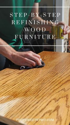 Refinish Wood Furniture, Diy Furniture Couch, Diy Furniture Plans Wood Projects, Furniture Repair, Upcycled Furniture, Furniture Makeover, Woodworking Projects, Furniture Design, Painting Furniture
