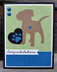 DAT'S My Style: New Puppy Card