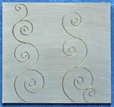 Learn to Hand Engrave - Engraving Lessons Metal Engraving, Custom Engraving, Grabar Metal, Dremel Wood Carving, Ornament Drawing, Bone Crafts, Hand Lettering Tutorial, Scroll Pattern, Viking Art