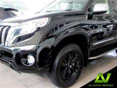 Toyota Land Cruiser Prado 3.0 Diesel (Limited Edition) Exterior : Black Interior : Ivory Toyota Land Cruiser Prado, 4x4, Diesel, Interior, Cars, Diesel Fuel, Design Interiors, Interiors, Interieur