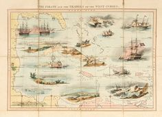 The Pirate and the Traders of the West Indies. London, England, 1847