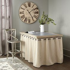 Barclay Storage Table - designed to hide dog crates!
