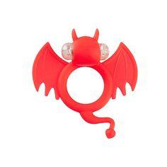 Anillos Vibradores Divertidos Murciélago Rojo Shots Toys Estimuladores de Clitoris Vibrador Barato Comprar Vibrador Barato
