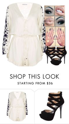 """""""NB lovely Bones Clear Sight"""" by cad-shantana-aryeequaye ❤ liked on Polyvore featuring beauty, Pampelone and Charlotte Russe"""