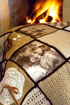 Photo Memory Crochet Blanket
