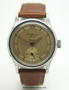 BENSON TROPICAL We Watch, Will Smith, Tropical, Range, Watches, Accessories, Cookers, Wristwatches, Clocks