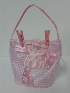 recordatorio canasta it s a girl para baby shower de ni a
