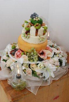 wedding cheese cake by Hennie