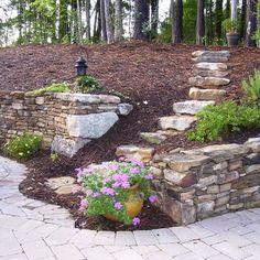 Landscape Hillside Steps Design, Pictures, Remodel, Decor and Ideas - page 2